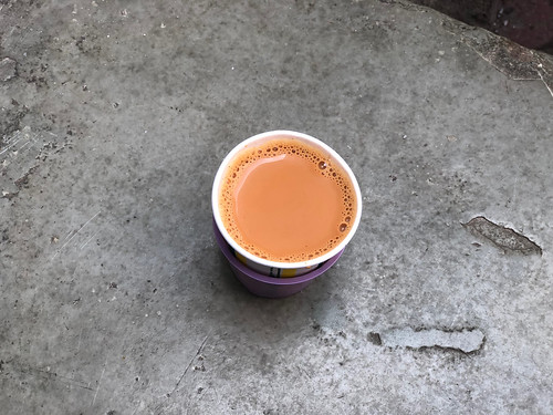 City Food - Jane Austen's Chai Stall, Bharat Ram Road
