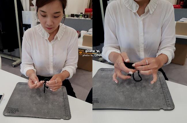 【首爾江南體驗】LEDA首飾製作.自己的手鍊、戒指自己做(星辰戒指+晶石手鏈製作) @GINA環球旅行生活 不會韓文也可以去韓國 🇹🇼