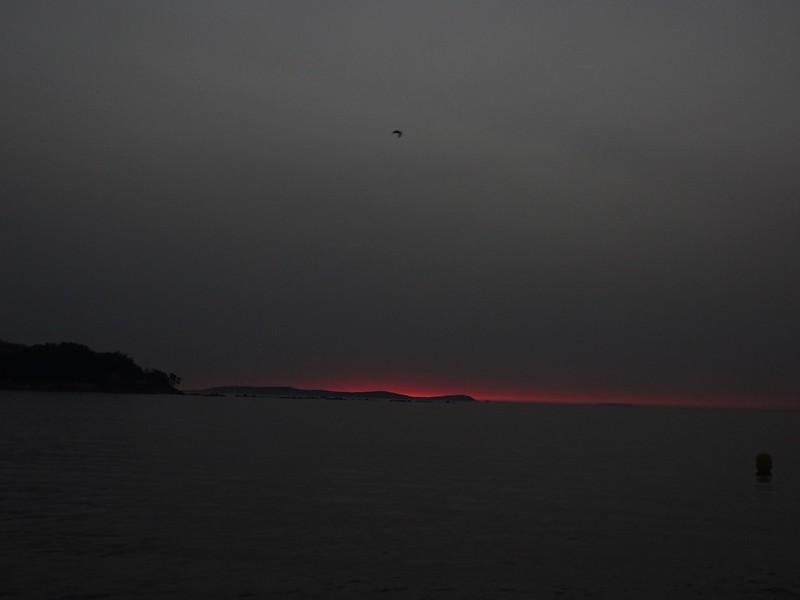 La delgada línea roja del crepúsculo