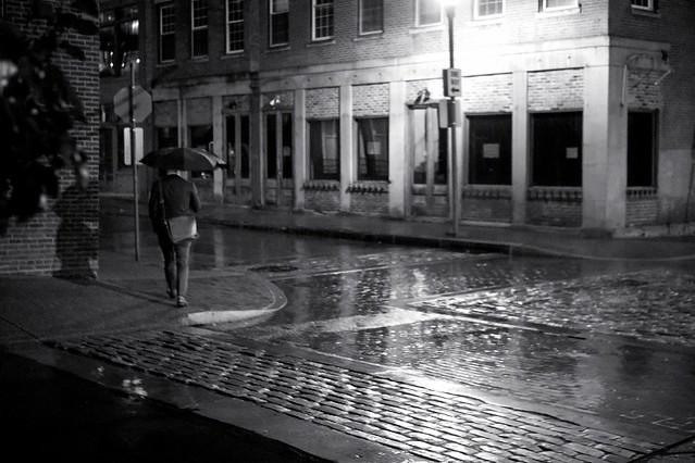 Wet Cobblestones & Bricks