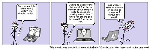 Why I Write 2018 Comic