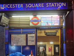 Leicester Square tube station. 20181022T06-08-23Z