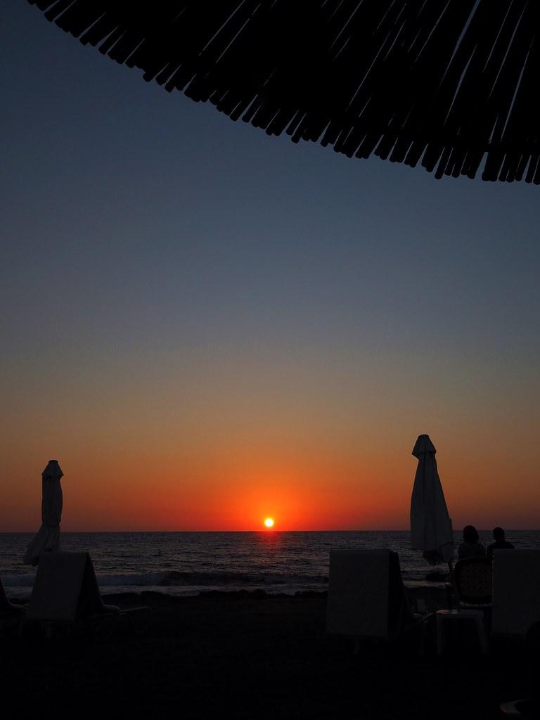 auringonlasku pafos kypros