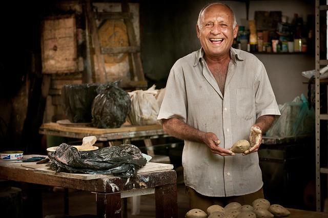 A inspiração para as obras de Mestre Nado vem principalmente da fauna e flora brasileira - Créditos: Eric Gomes