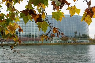 Autumn ambiance outside the EP