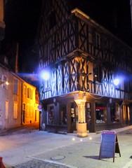Bourges Nuits Lumières  Maison des Trois-Flûtes