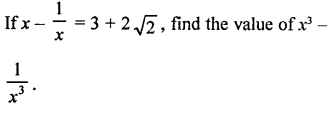 Algebraic Identities Problems With Solutions PDF RD Sharma Class 9 Solutions