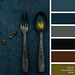 Antique Flatware Palette
