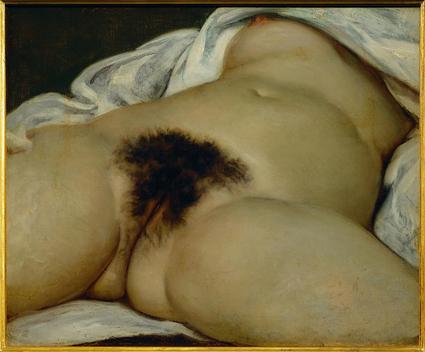 El origen del mundo Gustave Courbet - Desconocido Uti 425