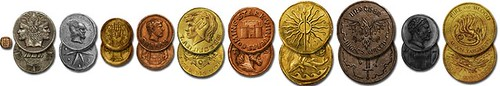 Pre-conquest coins of Westeros set