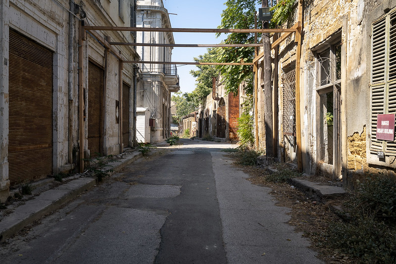 Buffer Zone in the Historic Centre of Nicosia
