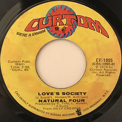 NATURAL FOUR:LOVE THAT REALLY COUNTS(LABEL SIDE-B)