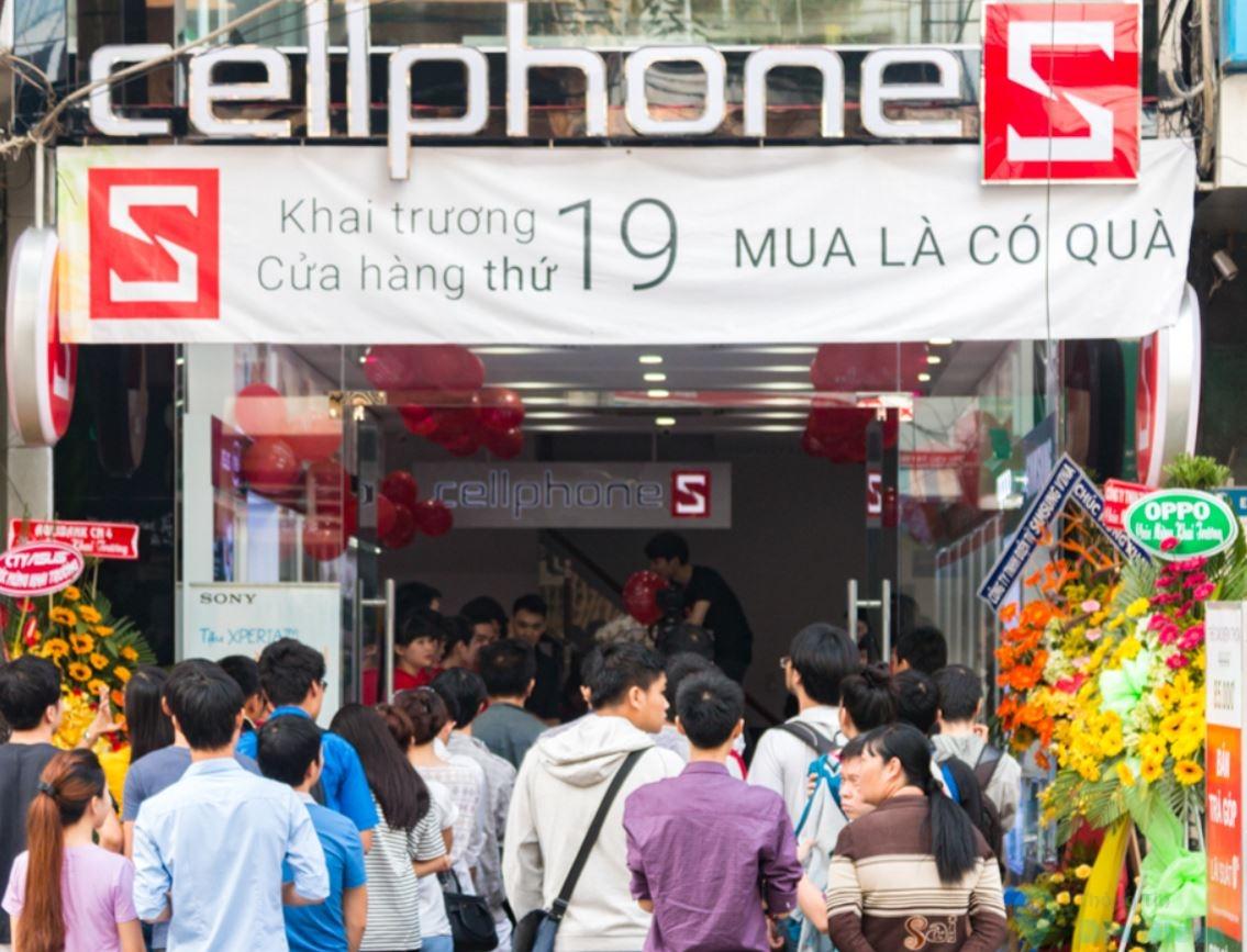 CellphoneS Võ Văn Tần
