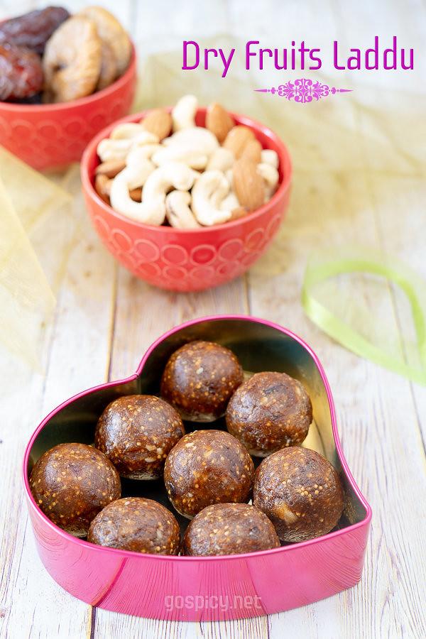 Dry Fruits Laddu Recipe by GoSpicy.net