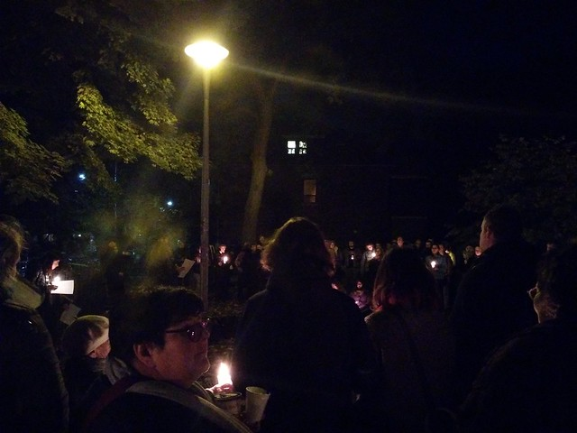 Vigil (4) #toronto #dufferingrovepark #ifnotnow #pittsburghstrong #vigil #night #latergram