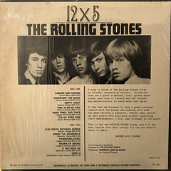 THE ROLLING STONES:12 X 5(JACKET B)