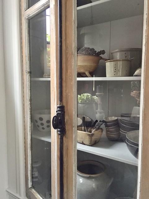Inbouwkast keuken landelijke stijl