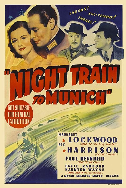 Night Train to Munich - Poster 2
