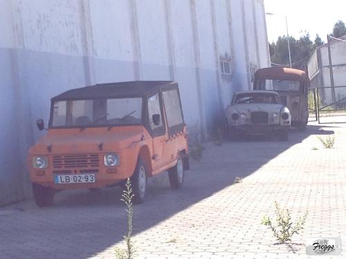Citroën Mehari, Jaguar XJ6 Series 1 & Citroën Typ H - Portugal