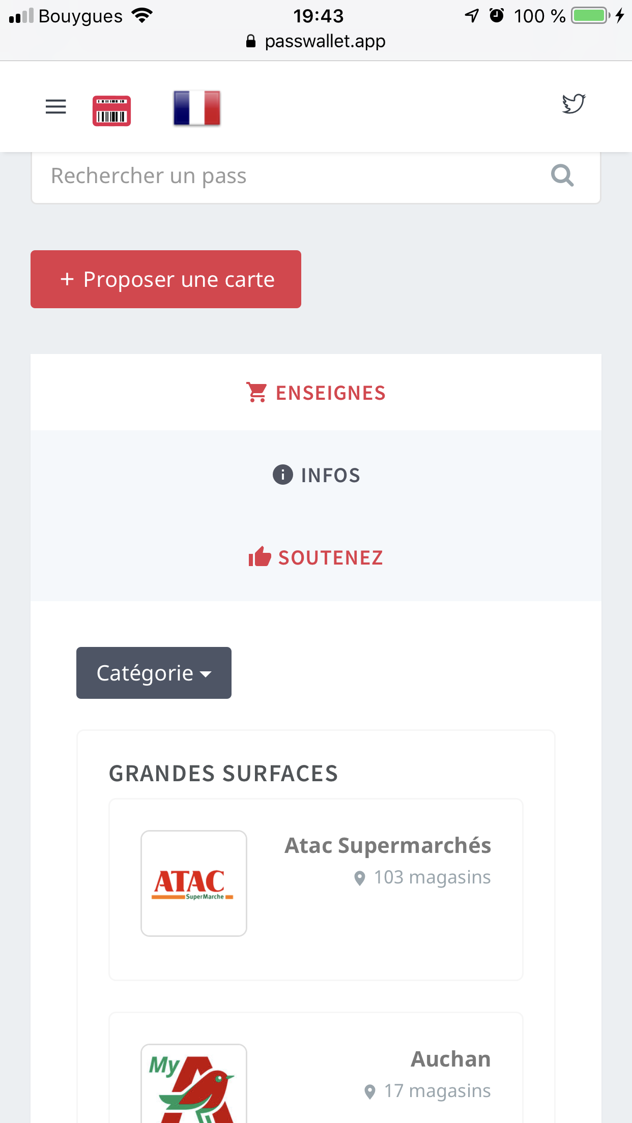 Carte Auchan Wallet.How To Add Any Loyalty Card To The Wallet App Francis Universe