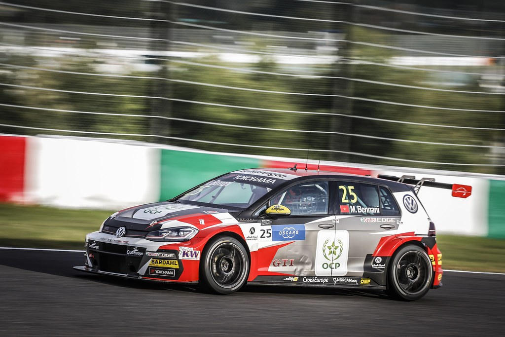 25 BENNANI Mehdi (mar), Volkswagen Golf GTI TCR team Sebastien Loeb Racing, action during the 2018 FIA WTCR World Touring Car cup of Japan, at Suzuka from october 26 to 28 - Photo Francois Flamand / DPPI