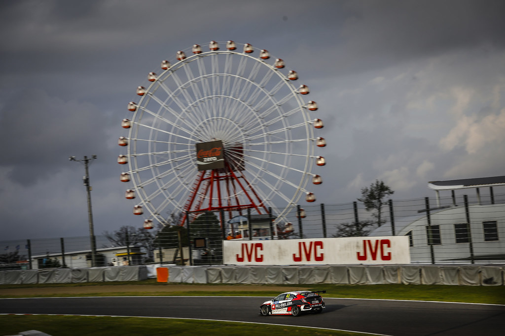 42 SCHEIDER Timo, (aut), Honda Civic TCR team ALL-INKL.COM Munnich Motorsport, action during the 2018 FIA WTCR World Touring Car cup of Japan, at Suzuka from october 26 to 28 - Photo Francois Flamand / DPPI