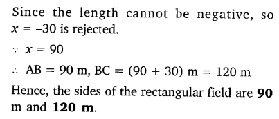 NCERT Solutions for Class 10 Maths Chapter 4 Quadratic Equations 28