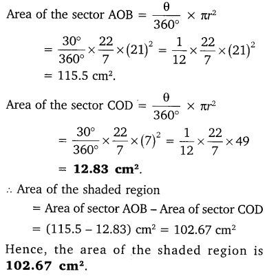 NCERT Solutions for Class 10 Maths Chapter 12 Areas Related to Circles 62