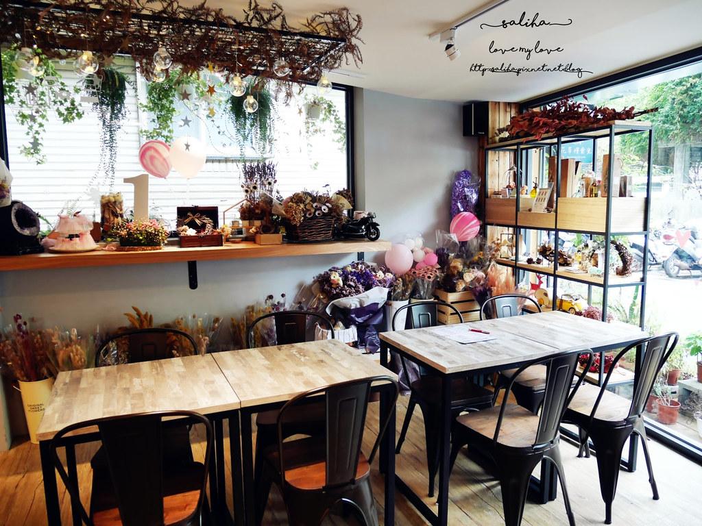 新店區公所附近咖啡館餐廳推薦花草慢食光 (1)