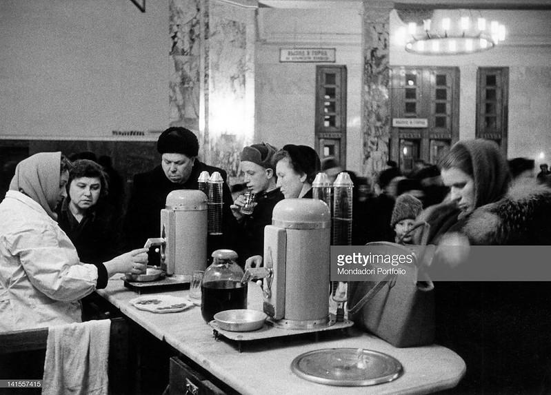 1960. Марио Де Бьязи в январской Москве