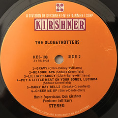 THE GLOBRTROTTERS:THE GLOBRTROTTERS(LABEL SIDE-B)
