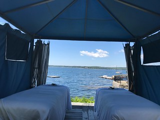 Seaside Massage at Spruce Point Inn