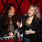 Mon, 01/10/2018 - 7:34am - Amy Helm and her band perform at Rockwood Music Hall in NYC for WFUV Public Radio, 10/1/18. Hosted by Carmel Holt. Photo by Gus Philippas/WFUV