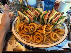Just look at this ridiculous club sandwich