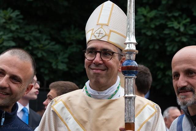 Ordination épiscopale et installation de Mgr Matthieu Rougé