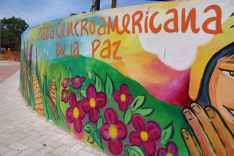Inauguramos Plaza Centroamericana de la Paz en el municipio de El Triunfo en Choluteca, Honduras como parte del proyecto de Prevención Social de la Violencia desde los Gobiernos Locales