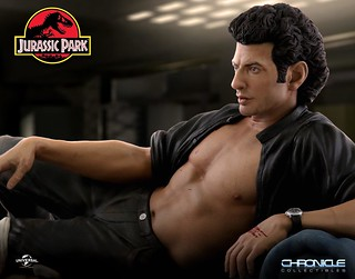 Sexy Jeff Goldblum Statue by Chronicle Collectibles