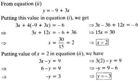 NCERT Solutions for Class 10 Maths Chapter 3 Pair of Linear Equations in Two Variables 43