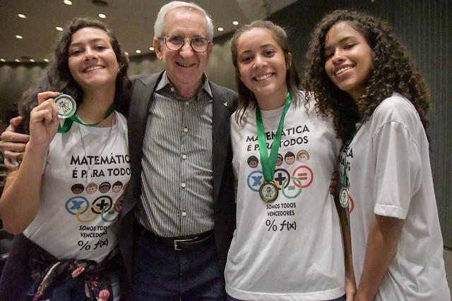 Premiação da II Olimpíada de Matemática do DF