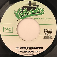 C & C MUSIC FACTORY:THINGS THAT MAKE YOU GO HMMMM....(LABEL SIDE-B)