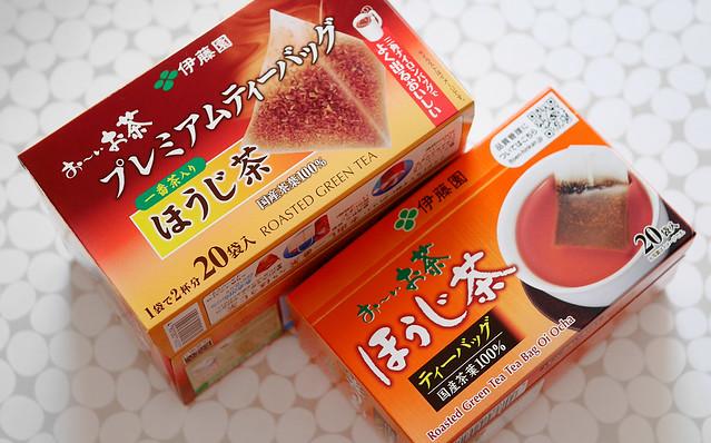 伊藤園 お〜いお茶 プレミアムティーバッグ 違い