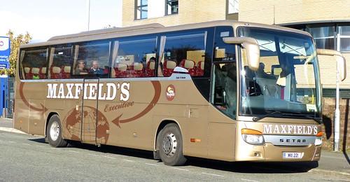 MXI 221 'Maxfields', Sheffield. SETRA  S415HD-GT on 'Dennis Basfords railsroadsrunways.blogspot.co.uk