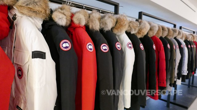 Canada Goose Vancouver opening