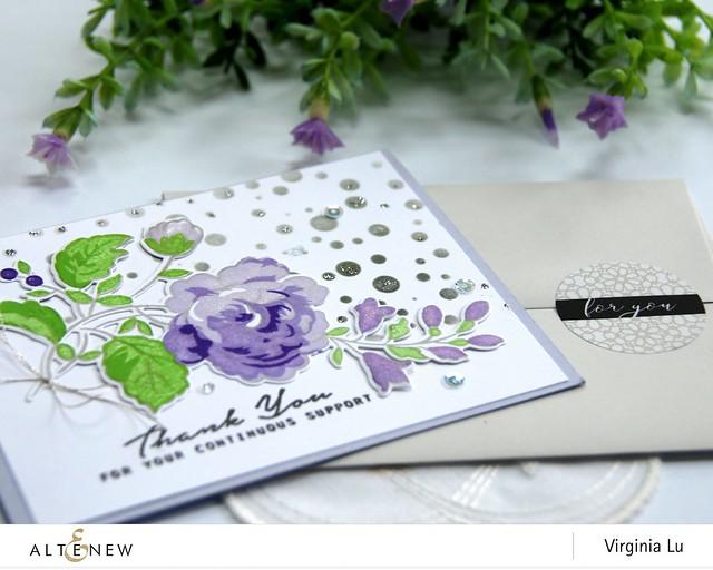 Altenew-NovemberInk-HandpickedBouquetStampDie-Sticker-Virginia#4