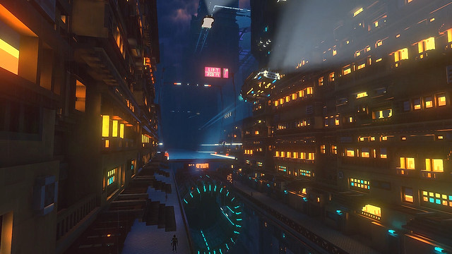Cloudpunk - Highrise Apartments