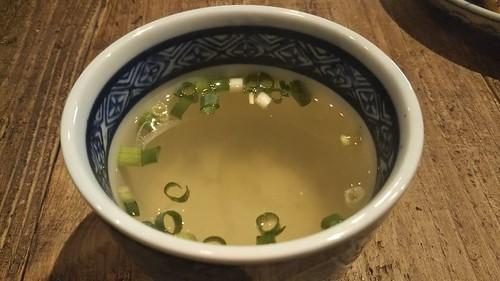 寺町蔵カレー 二番だしスープ
