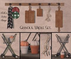 Granola. Maple Set.
