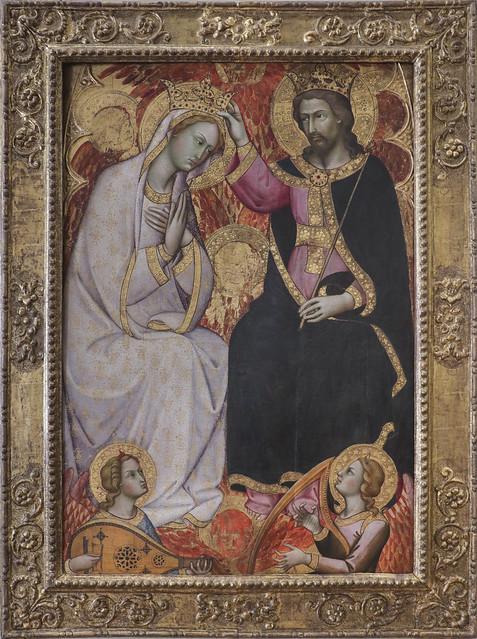 Incoronazione della Vergine, Andrea di Bartolo, Siena 1389-1428