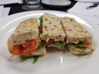 Morning Tea - salad sandwiches