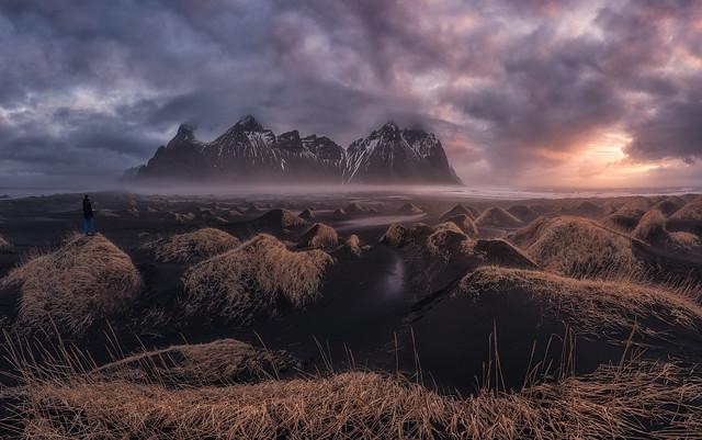 PA09 PA07 Juliocastro (Islandia) - Mar de dunas - Tomada en Stokksness, Islandia el 22-03-2018